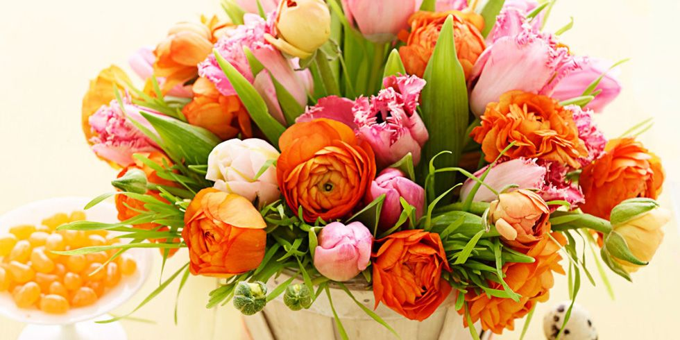15 Pretty Easter Flower Arrangements Best Easter Flower