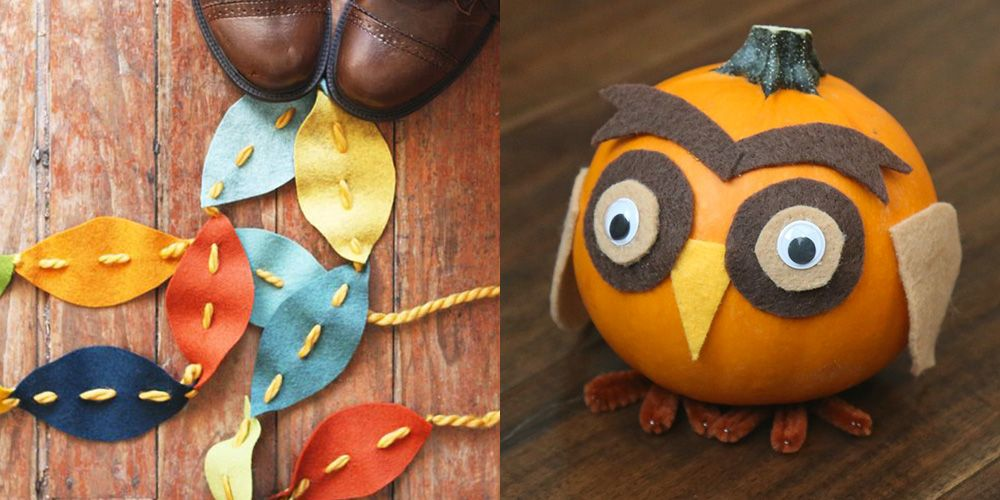 15 Fall Crafts for Kids to Make on a Lazy Sunday