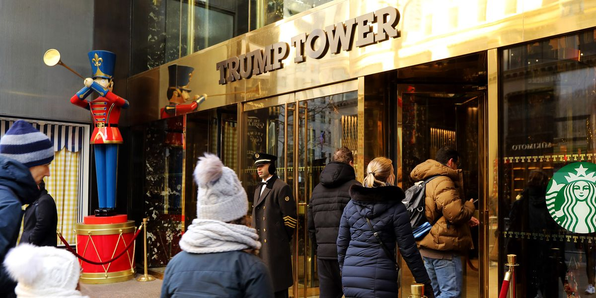 QnA VBage Searching for Christmas Spirit Within the Walls of Trump Tower