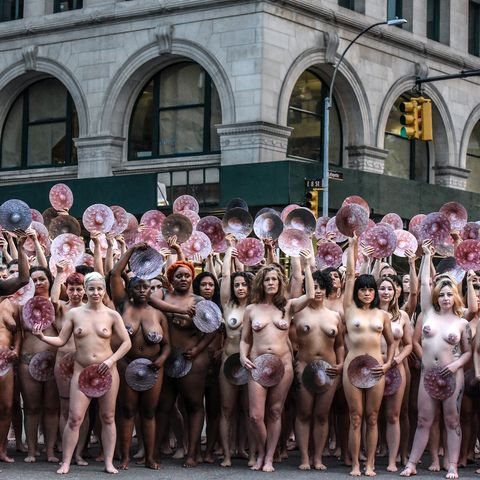 Spencer Tunick Wethenipple Naked Campaign Photographs Nude
