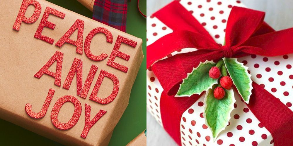 - 45 Christmas Gift Wrapping Ideas - Creative DIY Holiday Gift Wrap