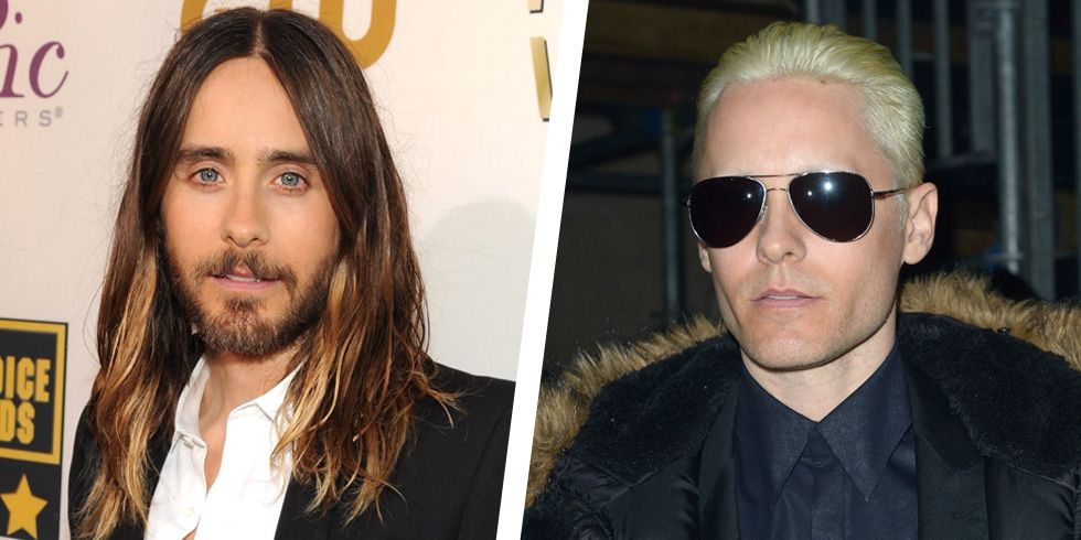 The Most Talked-About Male Celebrity Hair Transformations