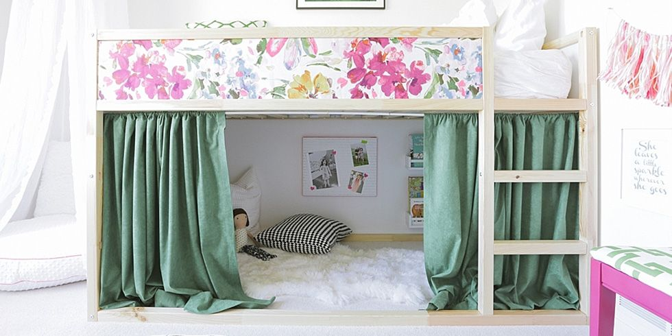 15 Best Ikea Bed S How To Upgrade, Loft Bed Curtains Boy