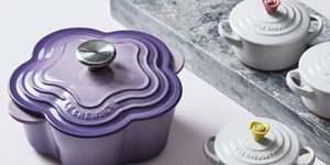 Le Creuset flowers collection