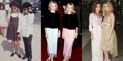 7cfb9f974ee Mary-Kate and Ashley Olsen s Best Fashion Moments - Mary-Kate and ...