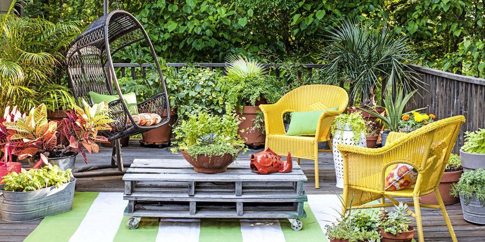Gardens Outdoor Living Magazine. Furniture Great Small Garden Design ...