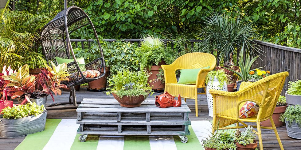 40 Ways to Maximize a Small Garden : patio garden - thejasonspencertrust.org