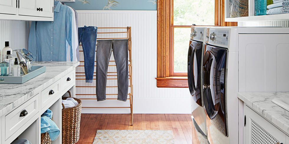 15 Best Small Laundry Room Ideas Small Laundry Room Storage Tips