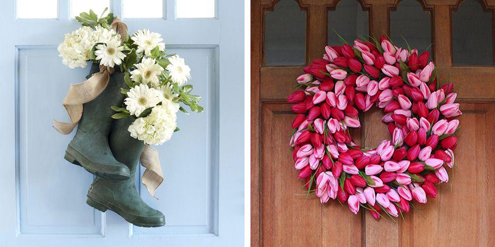 35 Spring Wreaths That Will Freshen Up Your Front Door