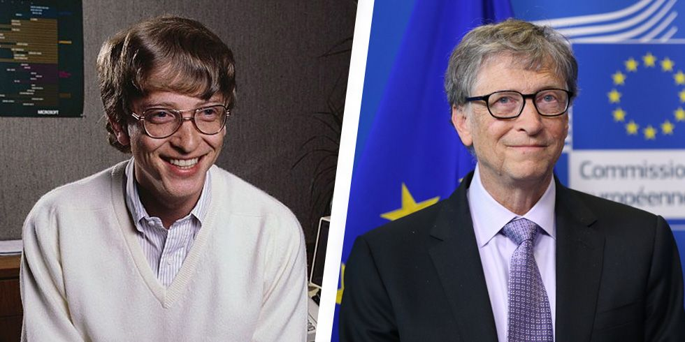 20 Tech Giants Before and After They Made It Big