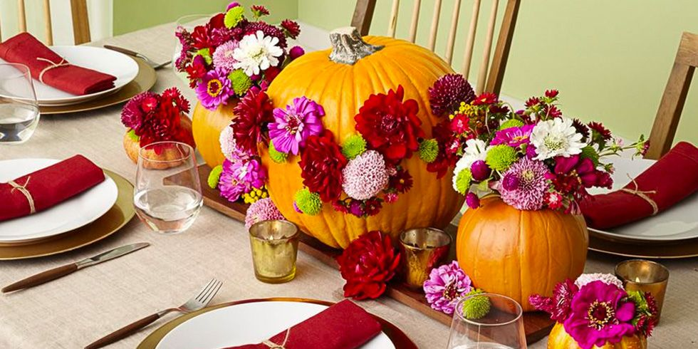 56 fall and thanksgiving centerpieces diy ideas for fall - Thanksgiving table decorating ideas ...