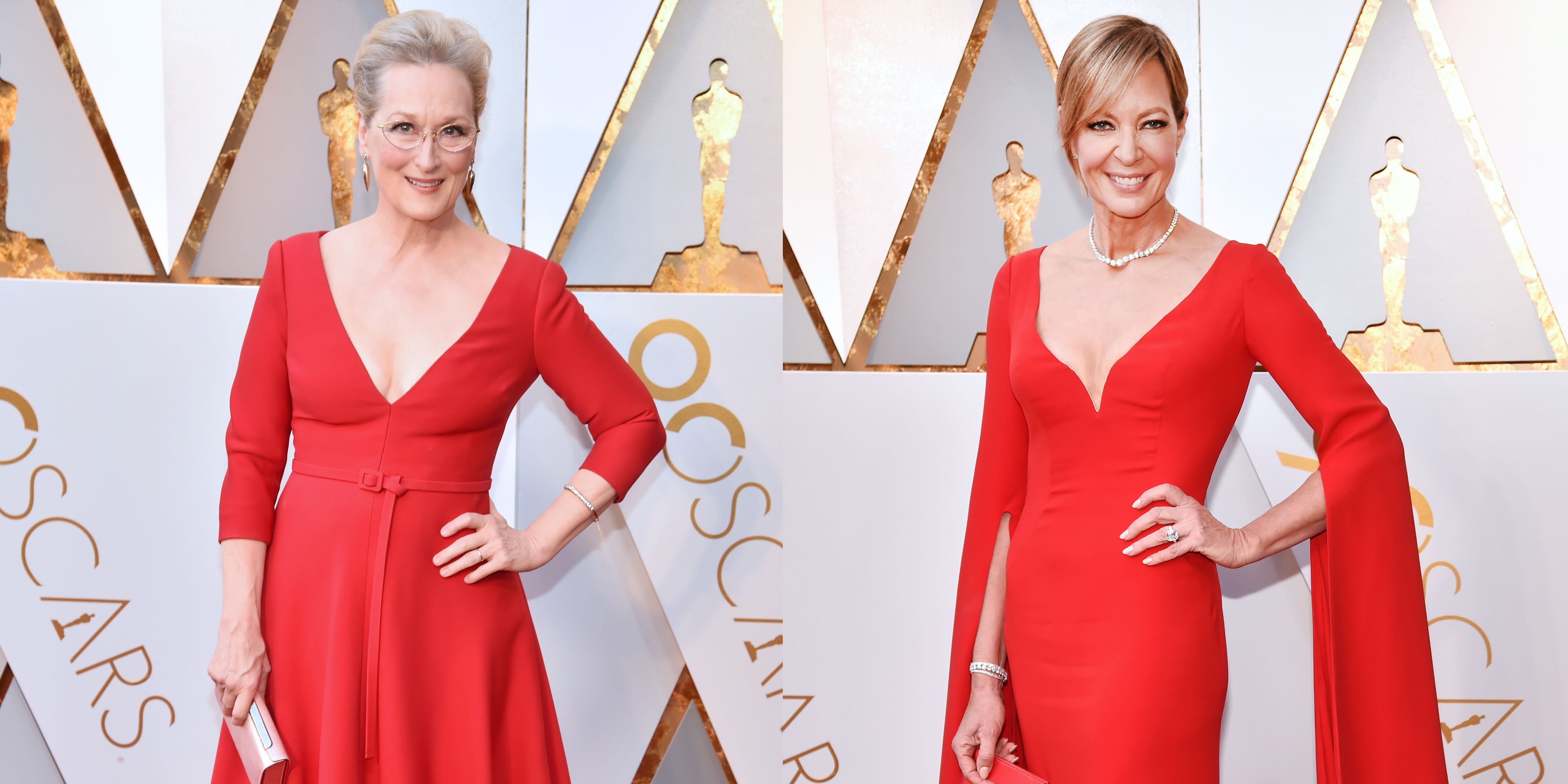 red carpet red look alike dresses