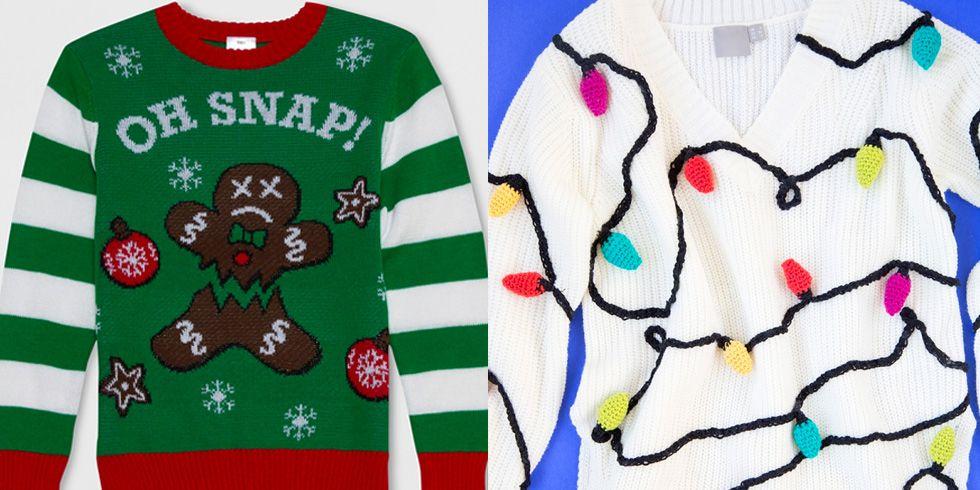 22 Ugly Christmas Sweater Ideas to Buy and DIY - Tacky Christmas ...
