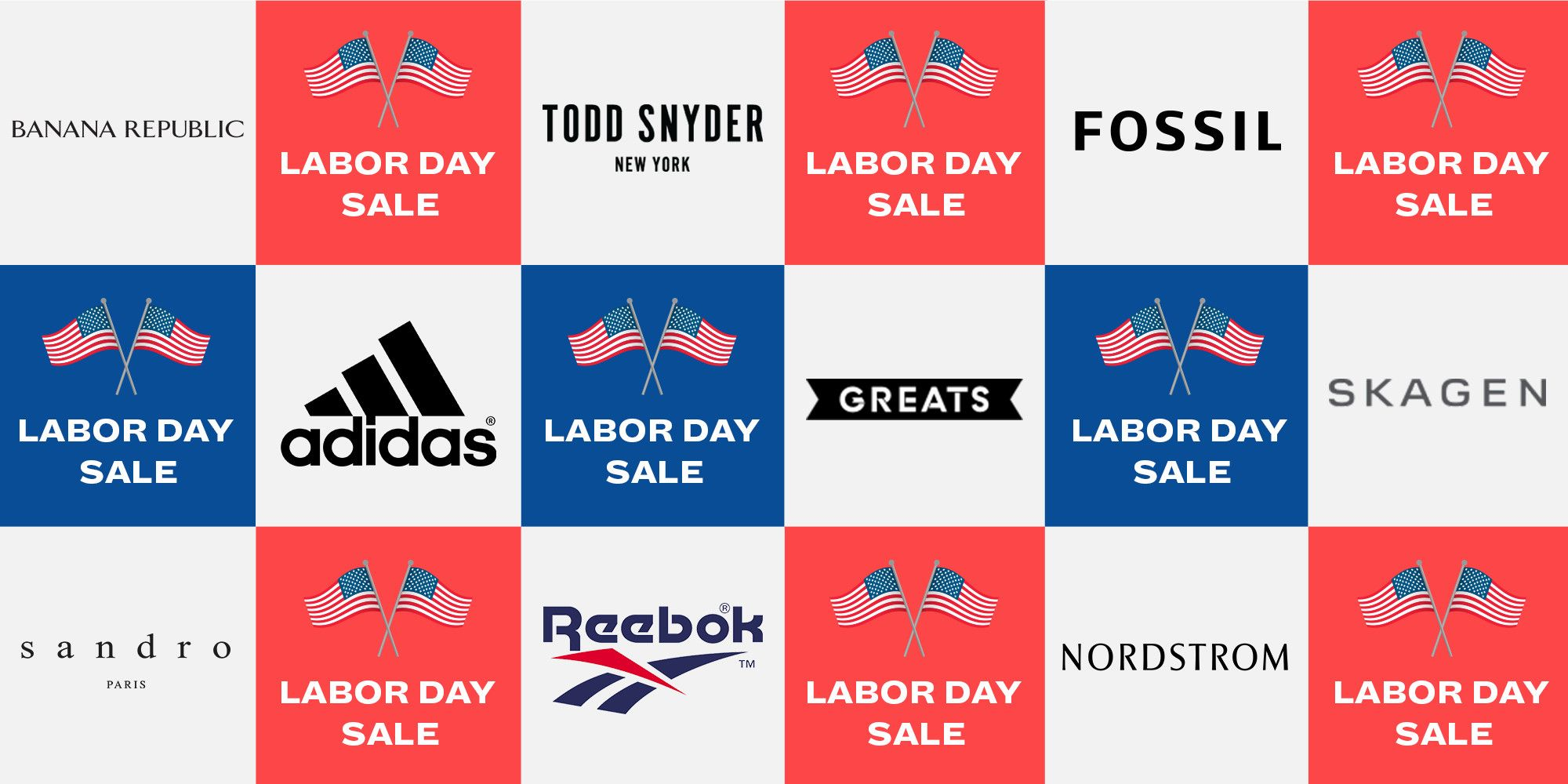 Sales for Labor Day 2019