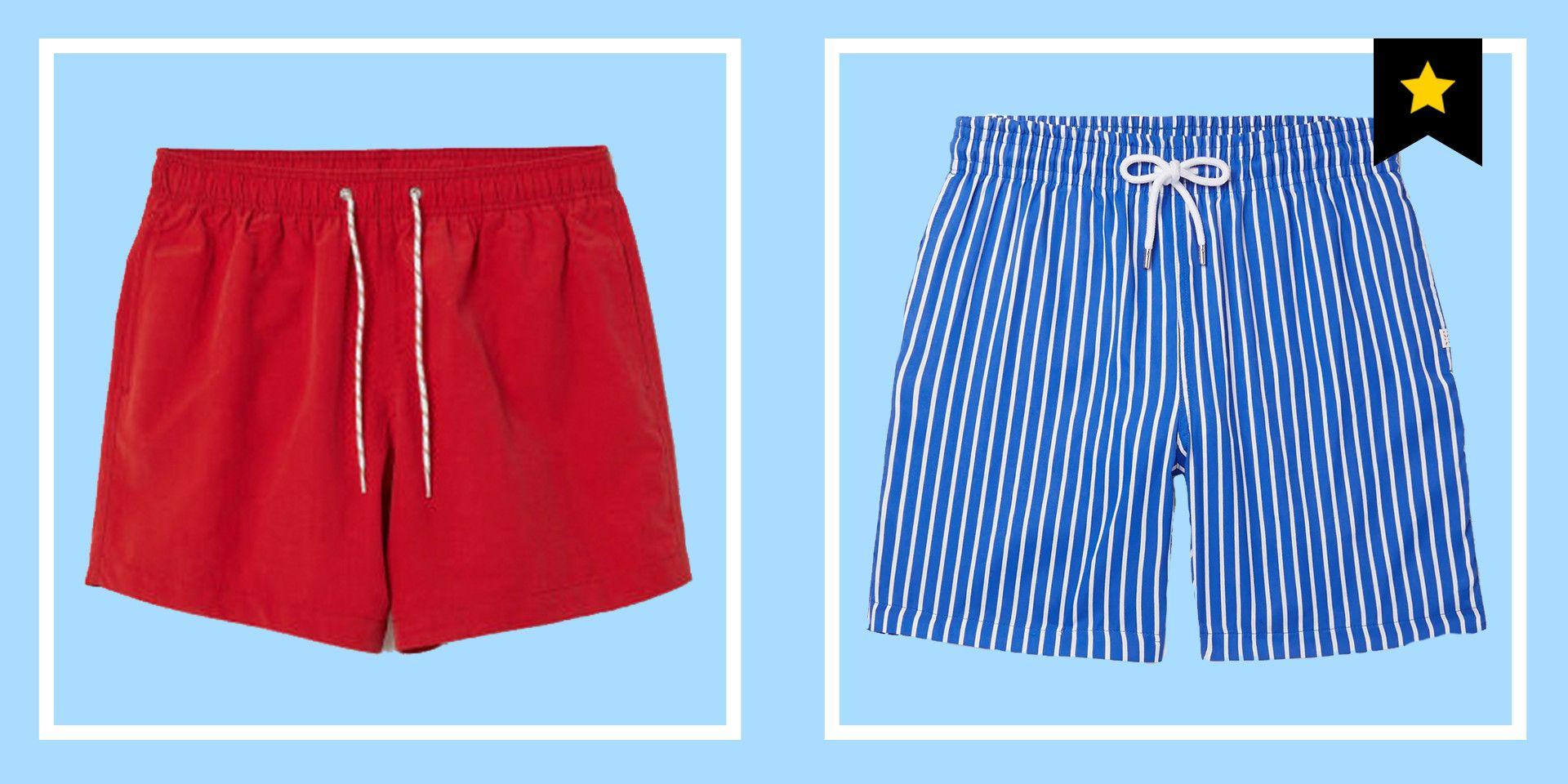 Men/'s Floral Beach Swimwear Swim Trunks Surf Stretch Board Shorts Blue