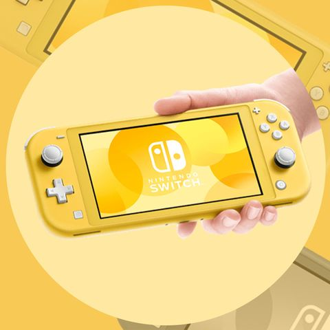 Gadget, Yellow, Game boy console, Handheld game console, Technology, Electronic device, Nintendo ds accessories, Video game accessory, Game boy advance, Home game console accessory,