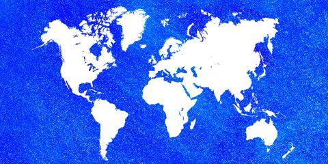 Blue, World,