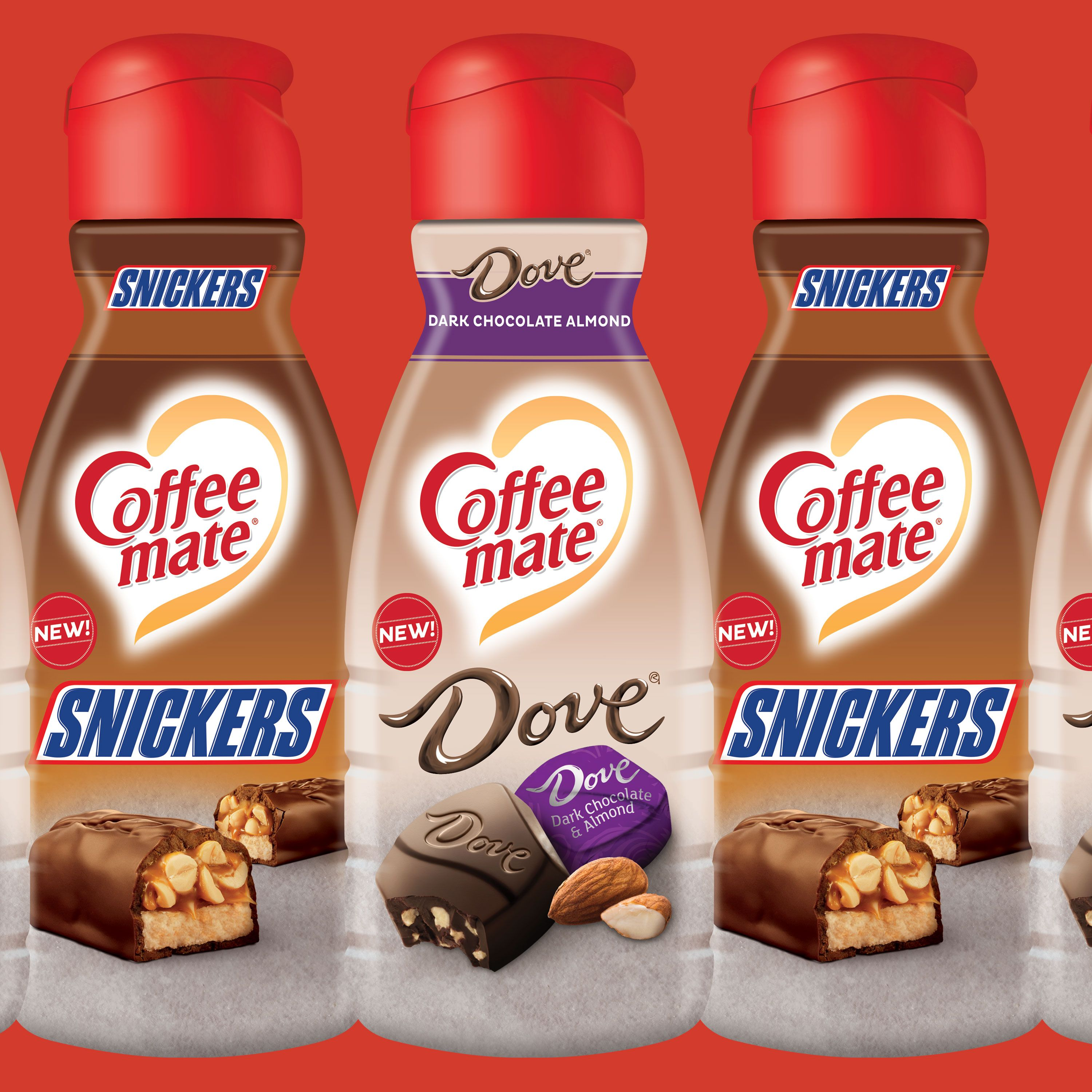 Snickers And Dove Coffee Mate Coming January 2019 New