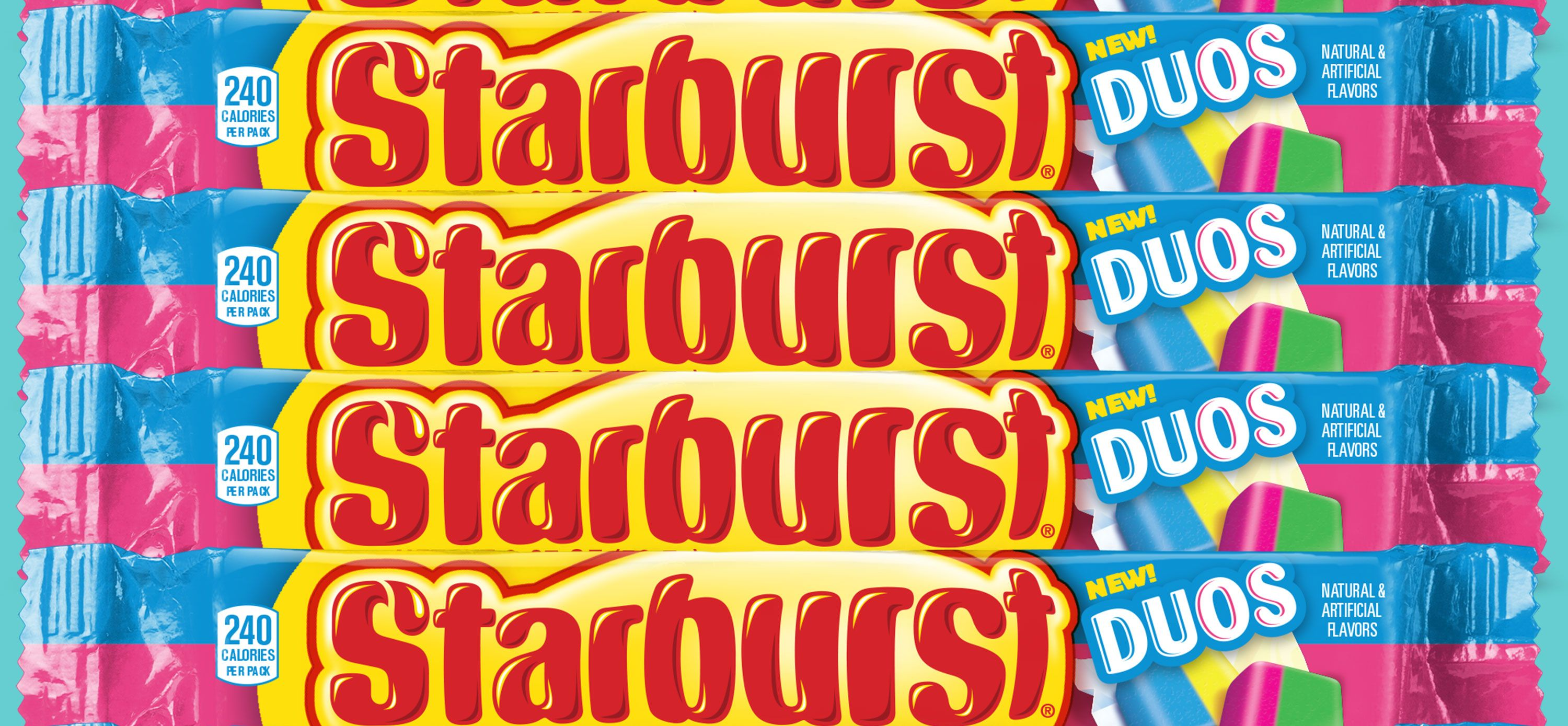 [UPDATE] Starburst's Two-In-One Duos Flavors Are Finally Here