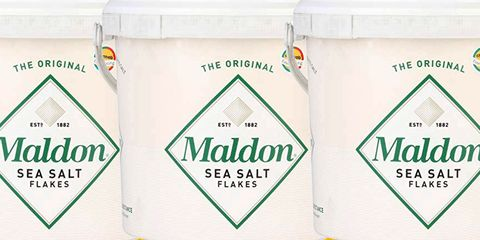 Amazon Sells 3-Pound Buckets Of Maldon Salt, In Case You Need Some Cheap, Fancy Salt In Your Life