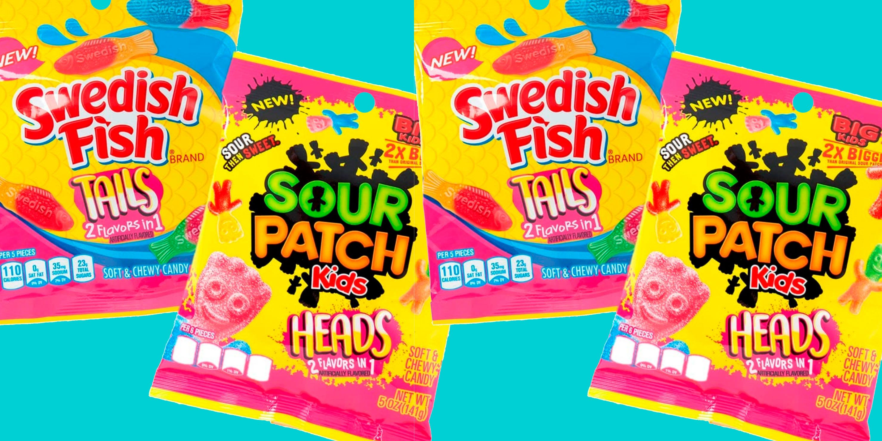 Swedish Fish And Sour Patch Kids Introduce 2-in-1 Flavors