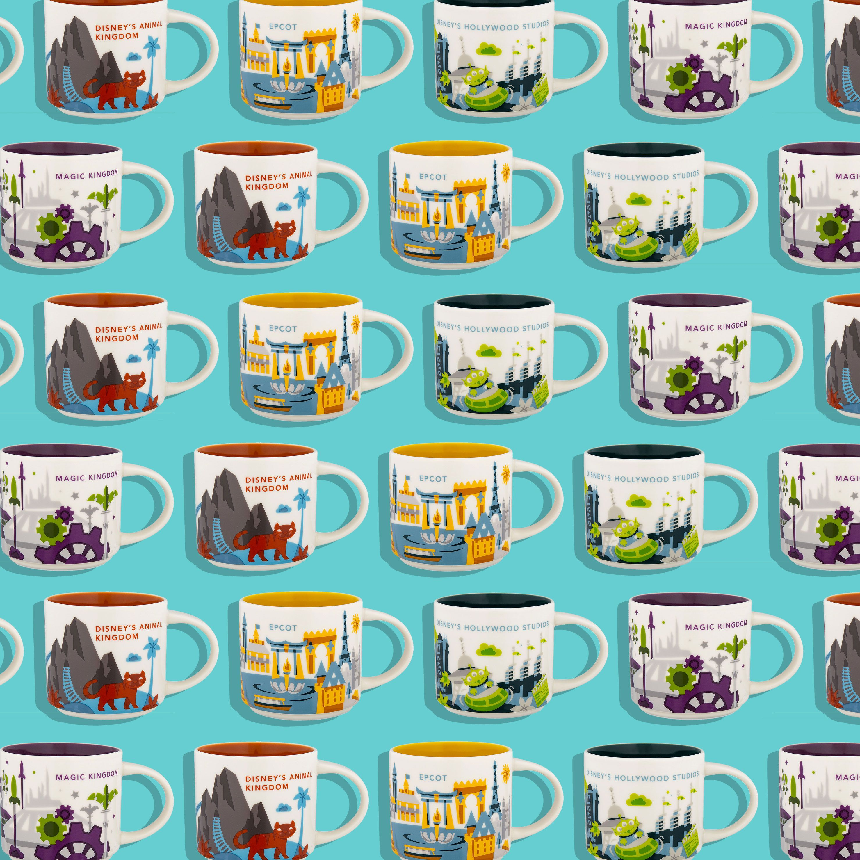 Starbucks You Are Here Disney Parks Mugs Are Available Online