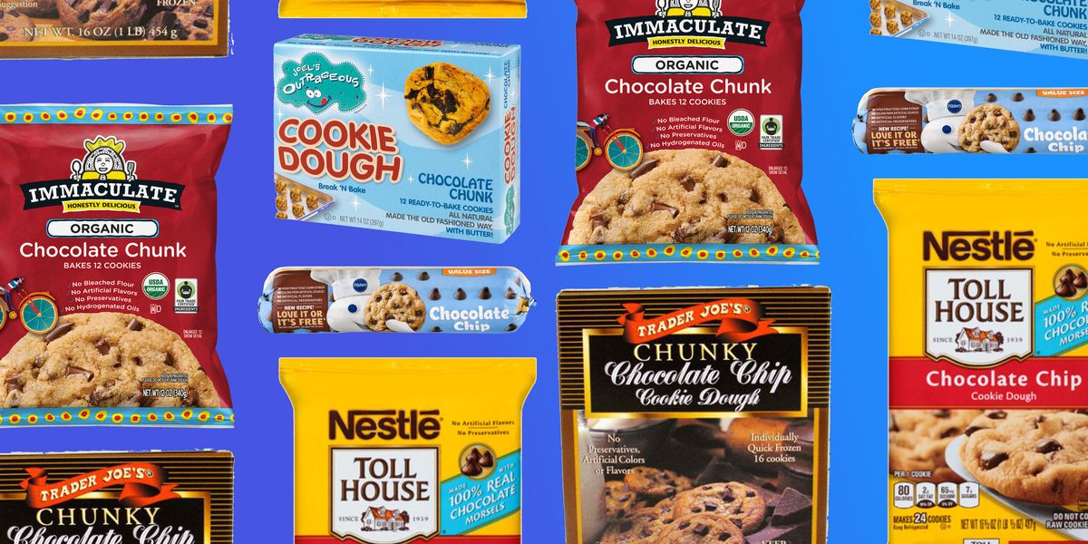 Store Bought Chocolate Chip Cookie Dough Ranked