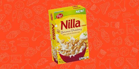 Nilla Wafer Banana Pudding Cereal