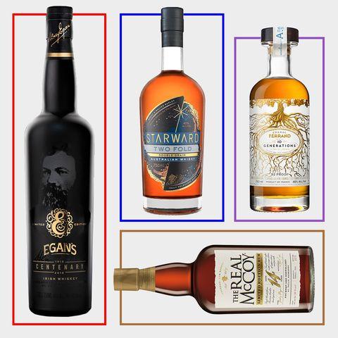 Alcoholic beverage, Distilled beverage, Liqueur, Drink, Bottle, Glass bottle, Alcohol, Product, Whisky, Wine bottle,