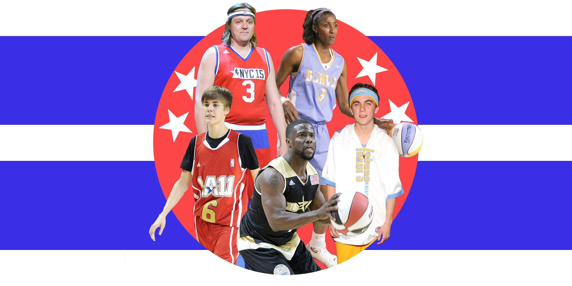 The Best Celebrity Basketball Game