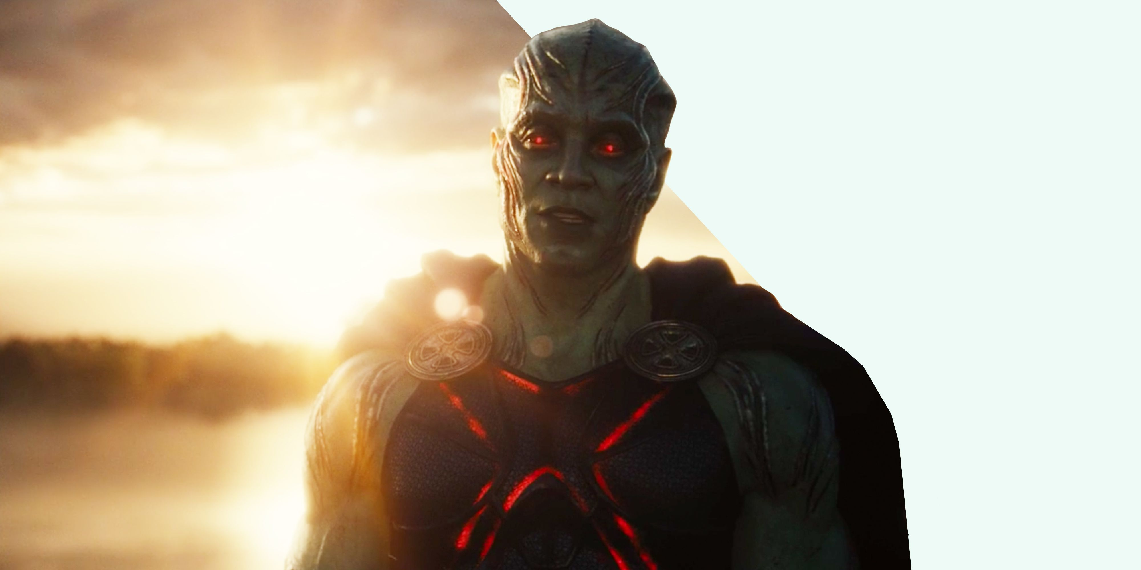 Who is Martian Manhunter in Zack Snyder's Justice League?