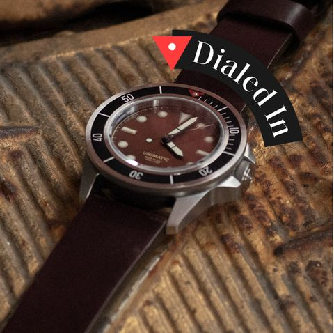 Watch, Analog watch, Watch accessory, Strap, Fashion accessory, Brown, Brand, Jewellery, Material property, Leather,