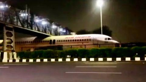 avión atascado india