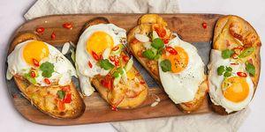 eggs kerjiwal - indian breakfast