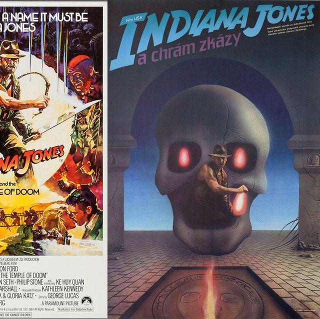 Indiana Jones posters