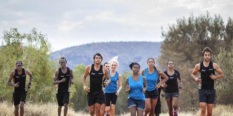 Indigenous Marathon Project runners.