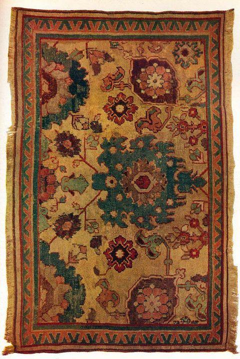 Indo-Persian rug, c1570