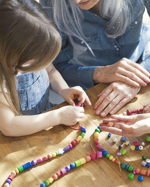indoor activities for kids making jewelry