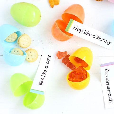 Indoor Easter Egg Hunt Idea - Directions