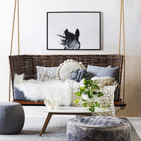 Marvelous How To Hang An Indoor Swing Hanging Chair Installation Tips Pabps2019 Chair Design Images Pabps2019Com