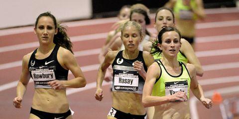 Shannon Rowbury 2014 national indoor championships
