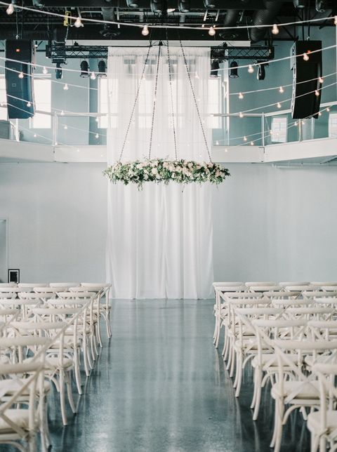 White, Photograph, Chiavari chair, Decoration, Chair, Aisle, Function hall, Lighting, Ceiling, Ceremony,