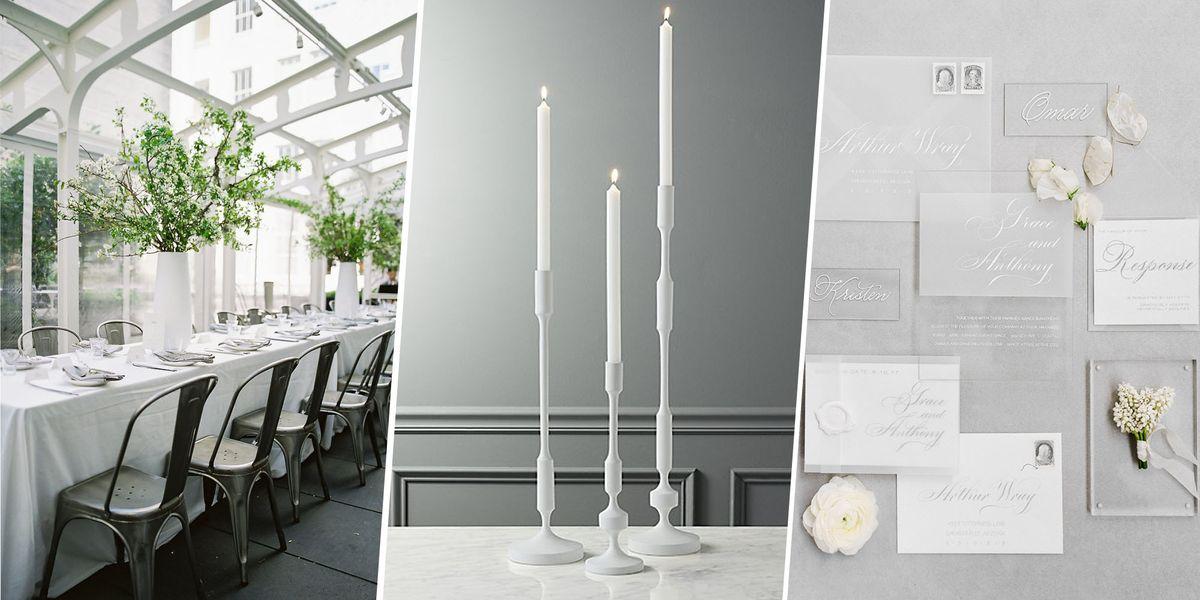 Industrial Chic Wedding Decor Ideas