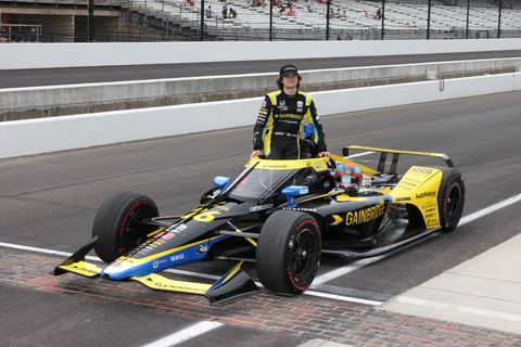 auto may 22 indycar  the 105th indianapolis 500 qualifying