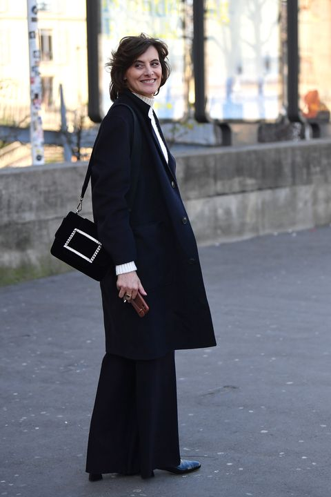 schiaparelli outside arrivals   paris fashion week   haute couture springsummer 2020