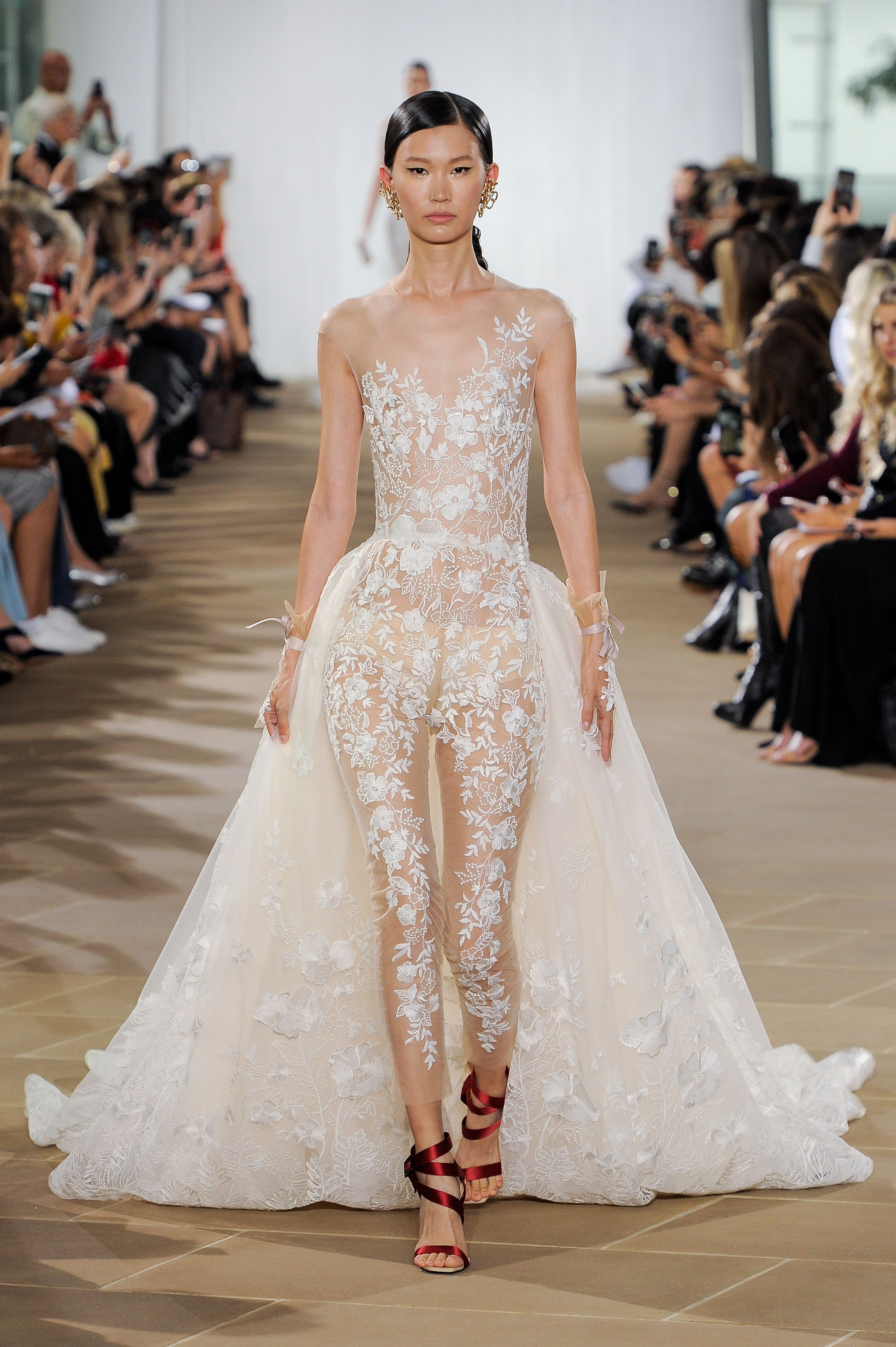 The Best Wedding Gowns and Jumpsuits from Bridal Week Fall 20