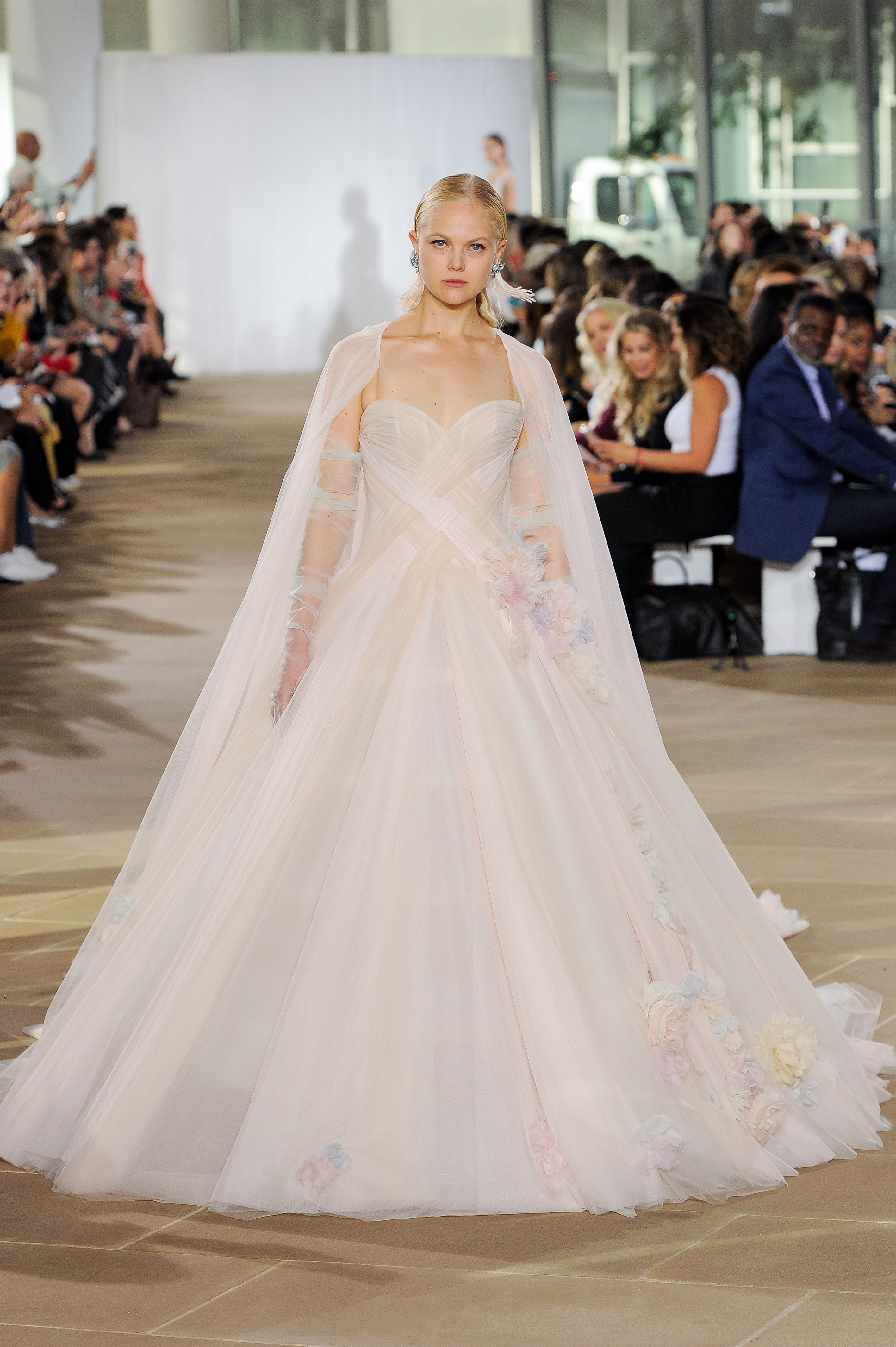 2cd1fae7c5e The Best Wedding Gowns (and Jumpsuits) from Bridal Week Fall 2019