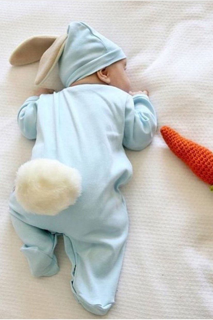 infant easter bunny outfit