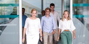 Infanta Cristina, Rey Juan Carlos hospital, Juan Carlos operacion corazon, Infanta Cristina hijos, Infanta Cristina visita Juan Carlos hospital