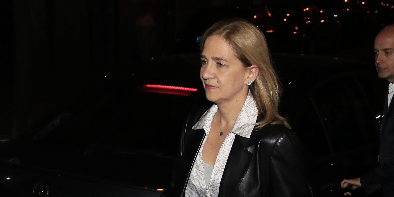 Infanta Cristina y sus problemas con su trabajo en caixabank